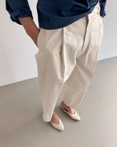 Margaret pintuck pants