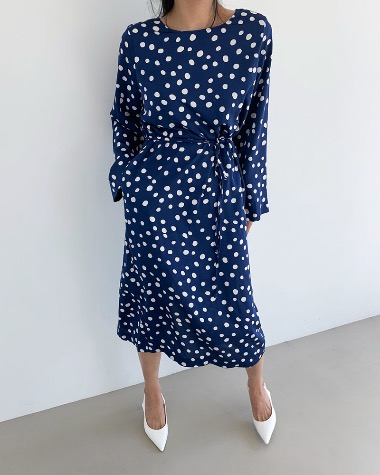Jane dot dress