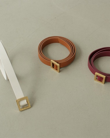 Maison leather belt