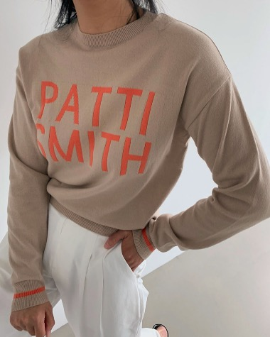 Patti smith knit