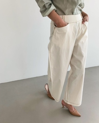 Side 3 button pants