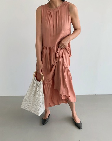 Kankan sleeveless dress