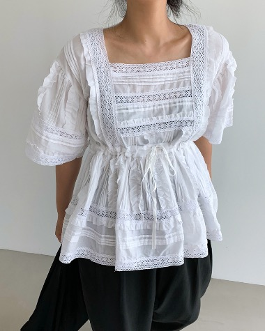 Lily lace blouse