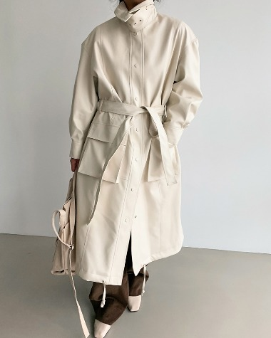 Lochle leather coat