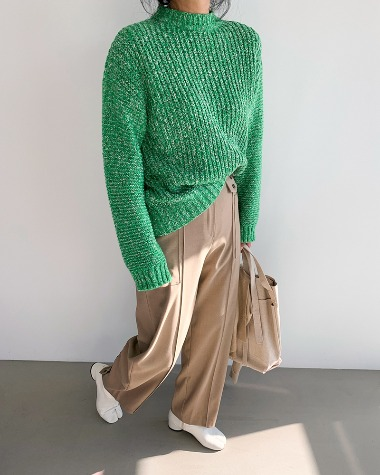 Goofy color knit