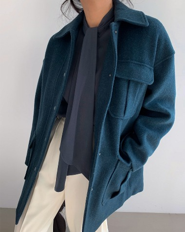 Shirts wool coat