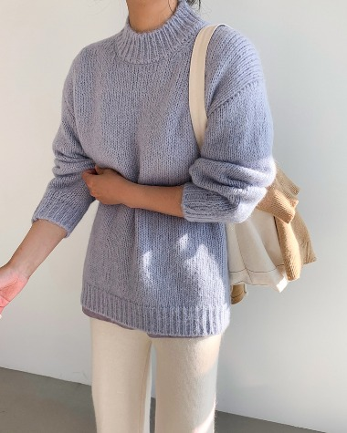 Smoothie round knit