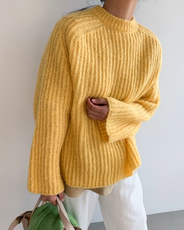 Kidney color knit