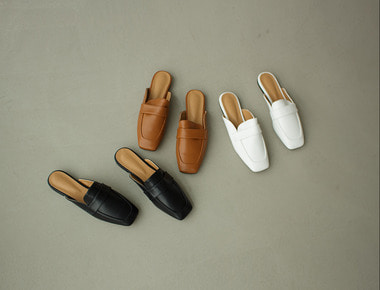 AT022 Loafer line mule