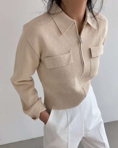 Lance pocket cardigan