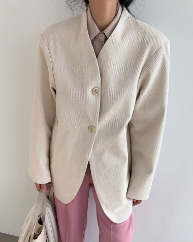 Single twill jacket
